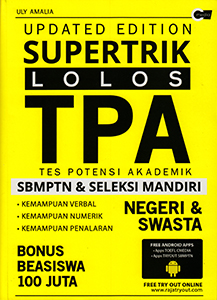 Updated Edition Supertrik Lolos Tpa Sbmptn Amp Seleksi Mandiri Cmedia