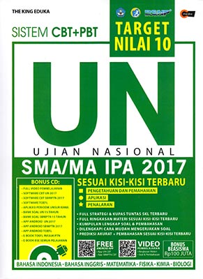 Target Nilai 10 Un Sma Ma Ipa 2017 Cmedia