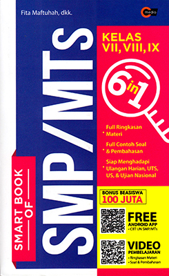 Smart Book Of Smp Mts Kelas Vii Viii Amp Ix Cmedia
