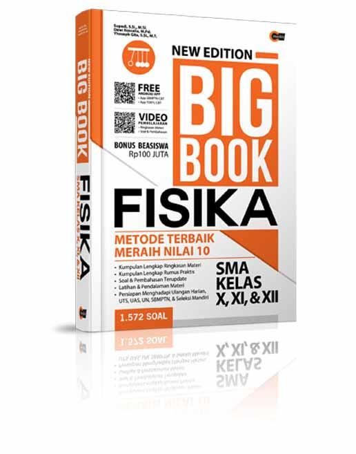New Edition Big Book Fisika Sma Kelas X Xi Amp Xii Cmedia