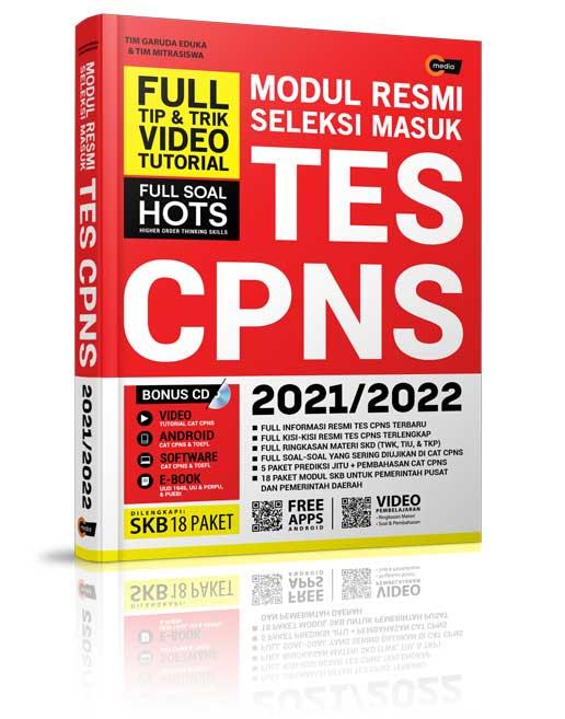 Modul Resmi Seleksi Masuk Tes Cpns 2021 2022 Penerbit Cmedia